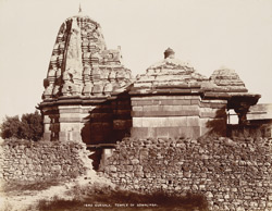 Gursala, Satara District. Temple of Somalinga